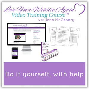 Do it yourself Website Video Training Course
