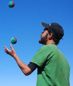 juggling - multi-tasking